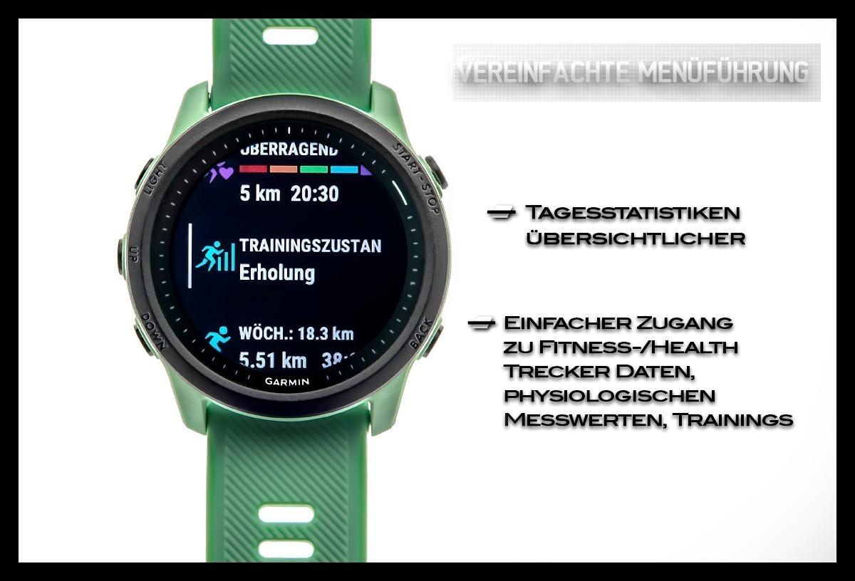 Garmin Forerunner 745 Menü Triathlon Training