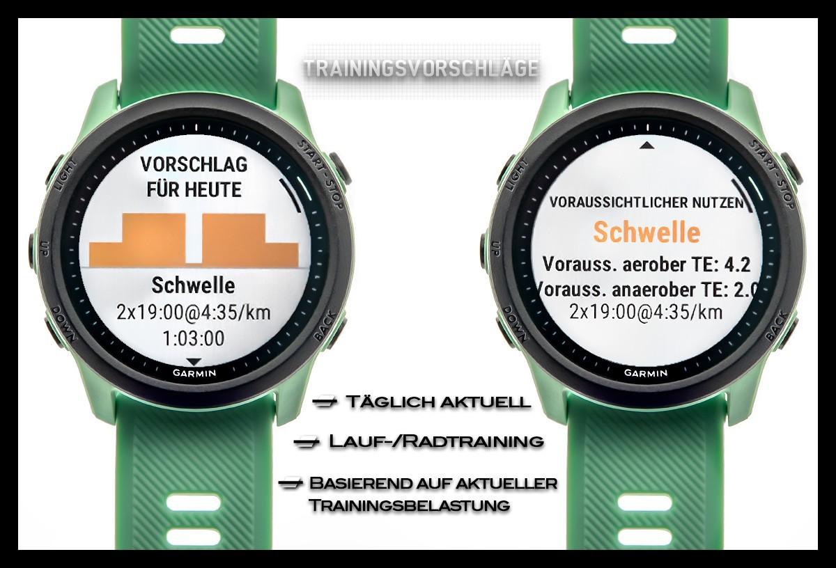 Garmin Forerunner 745 Triathlon Training Workout Vorschläge