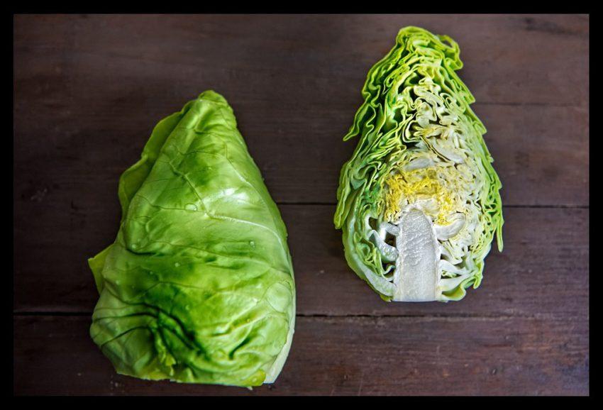 Spitzkohl für veganes Kimchi Rezept