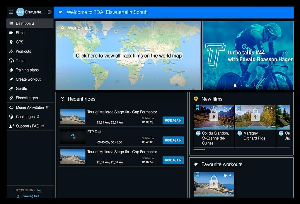 Tacx Desktop App Community