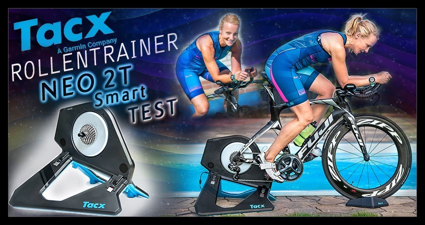 Tacx Neo 2T Smart Training Triathlon Test