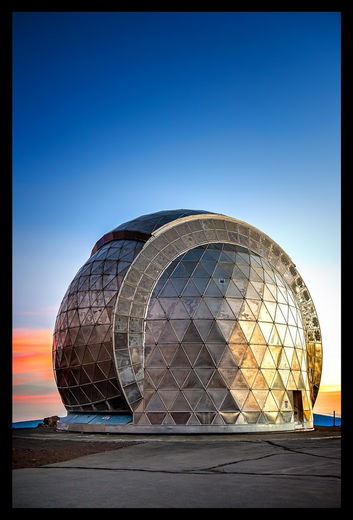 Caltech Submillimeter Observatorium Mauna Kea Big Island Summit Gipfel
