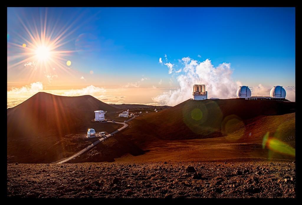 Mauna Kea Big Island Summit Gipfel mit Observatorien