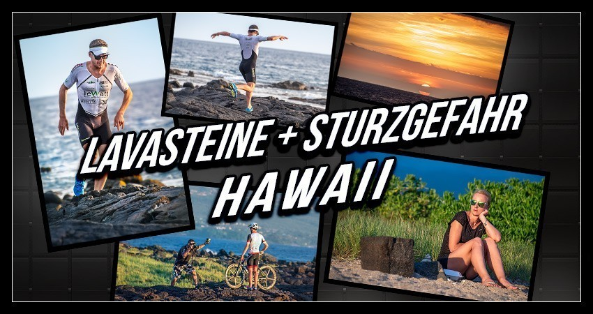 Ironman Hawaii Fotoshooting Professional Triathlete Collage