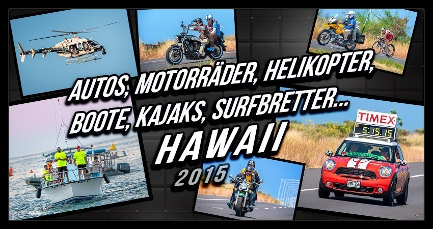 Ironman Hawaii Fahrzeuge