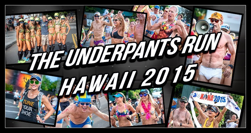 Underpants Run Hawaii Big Island Ironman World Championship 2015