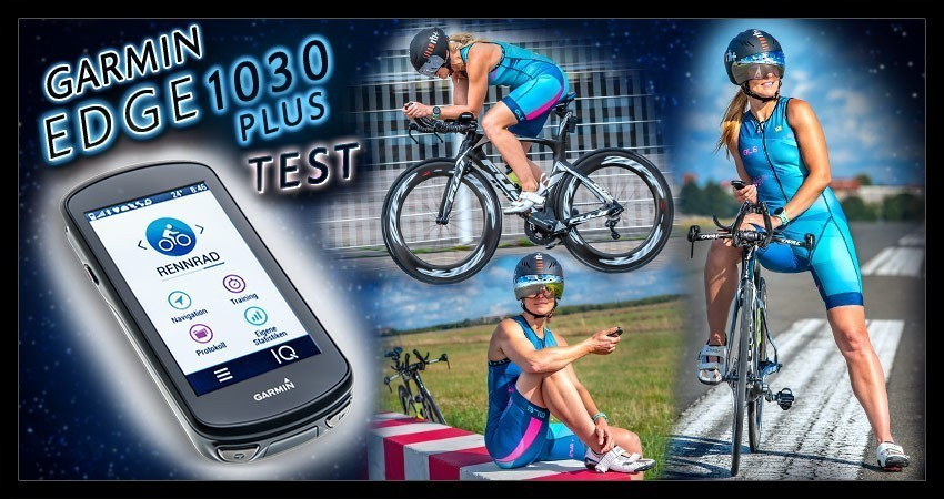 Garmin Edge 1030 Test Banner Visual Collage