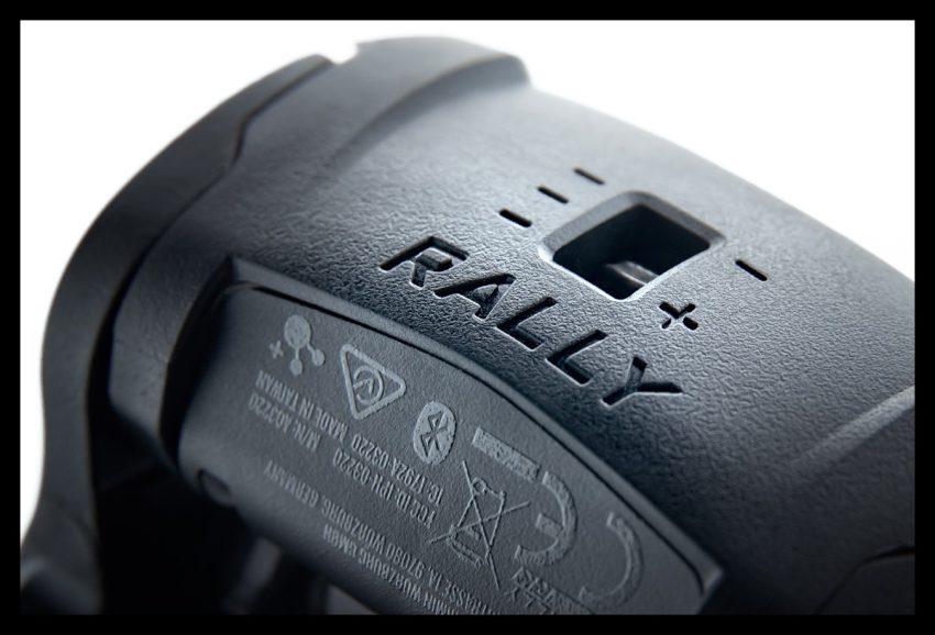 Garmin Rally Wattmess Pedalsystem Powermeter Pedal auf weißem Hintergrund Einstellen Auslösen Härte