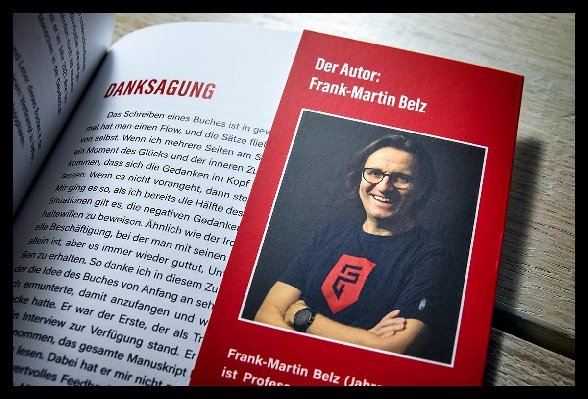 Autor und Triathlet Frank Martin Belz