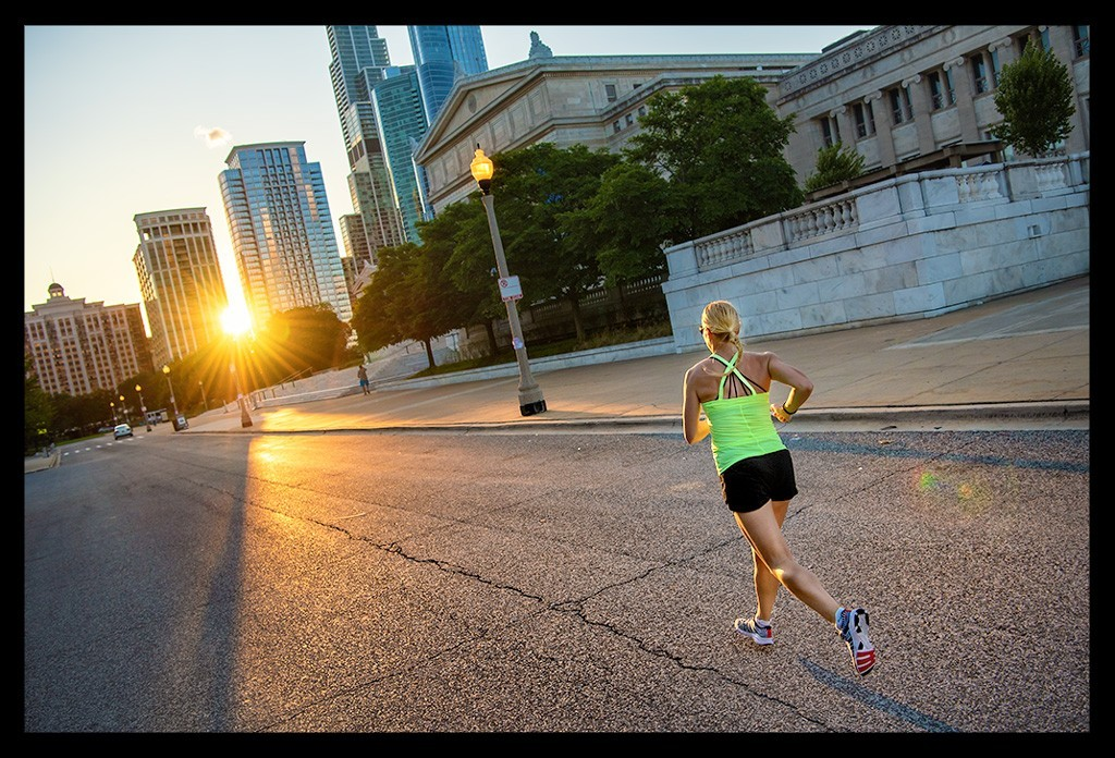 Chicago Sonnenuntergang Laufen Tipps Reiseblog