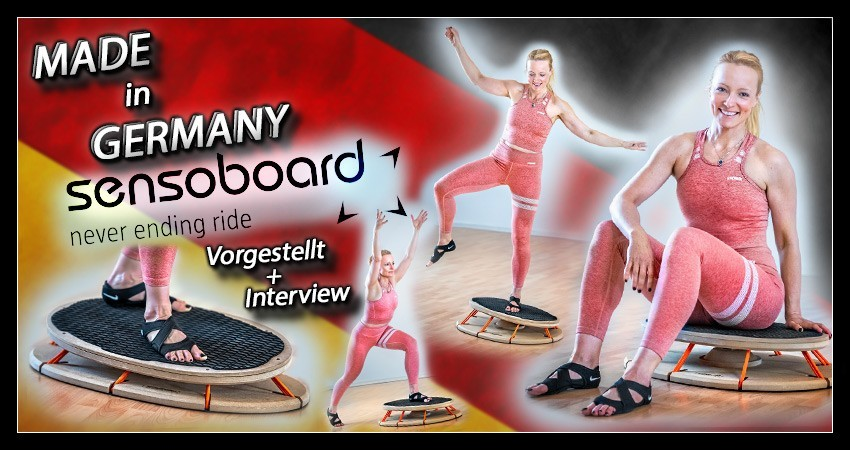 Stabi Sensomotorisches Training Banner Collage