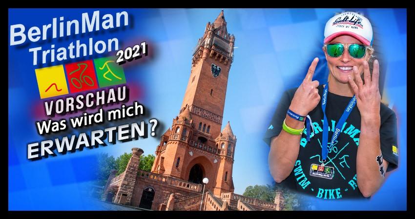 BerlinMan Triathlon Banner Collage