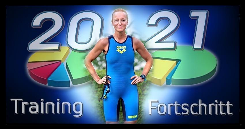 Triathlon Training Banner Blog Auswertung Statistik
