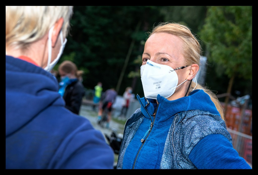 BerlinMan Triathlon 2021 - Wettkampfmorgen & Schwimmstrecke